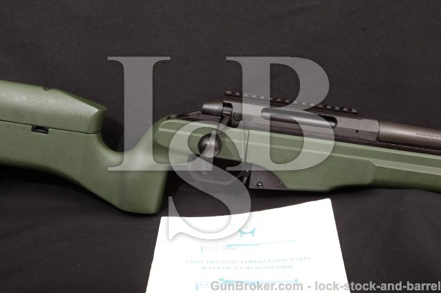 SAKO TRG42 TRG-42, JRSM231, .300 Win. mag Rifle Muzzle Break Green Stock Detachable Magazine, 2007