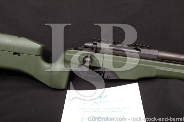 SAKO TRG42 TRG-42, JRSM231, .300 Win. mag Rifle Muzzle Break Green Stock Detachable Magazine, 2007