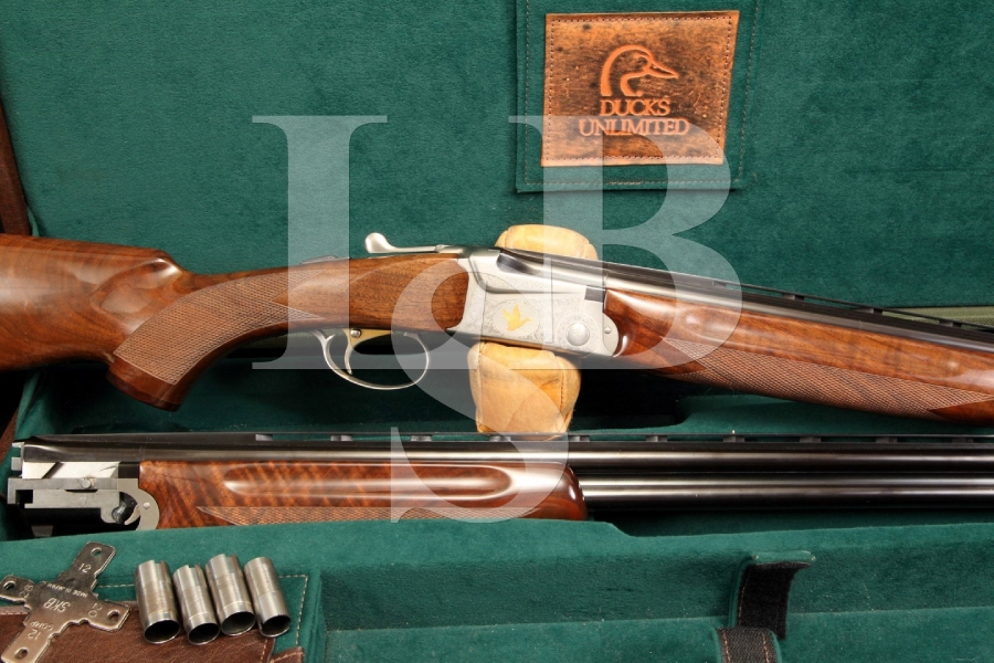 SKB Ducks Unlimited 685 O/U Over/Under 20 & 28 Gauge Ga. Shotgun Set 5 of 200