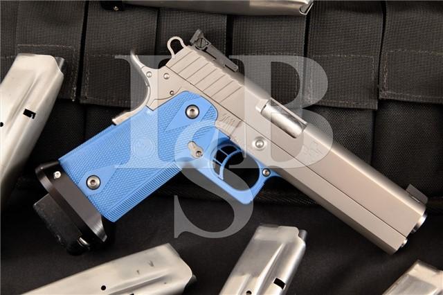 STI International 2011 .40 S&W Semi-Auto Pistol Special Order Stainless Steel