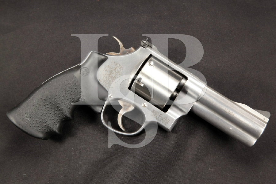 "S&W, Smith & Wesson Model 610-2, Stainless 4"" DA/SA Double Action Revolver, MFD 2000-2001"