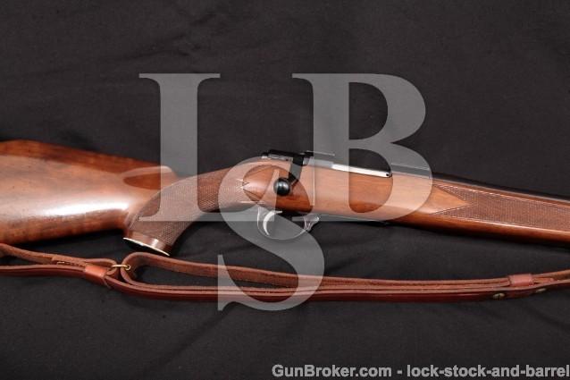 Sako L461 Vixen Sporter No Import, Blue 23 1/2″ Bolt Action Rifle & Sling, MFD 1967 .223 Rem. C&R