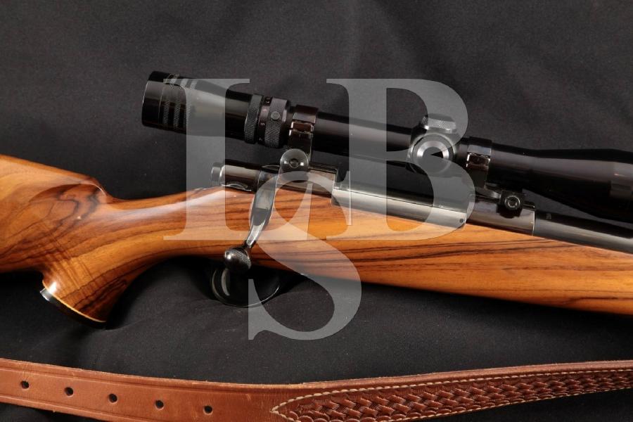 Sako Model Finnbear Sporter L61R (Pre-Garcia), Blue 24 1/2 Bolt Action Rifle, Sling & Redfield Scope MFD 1969