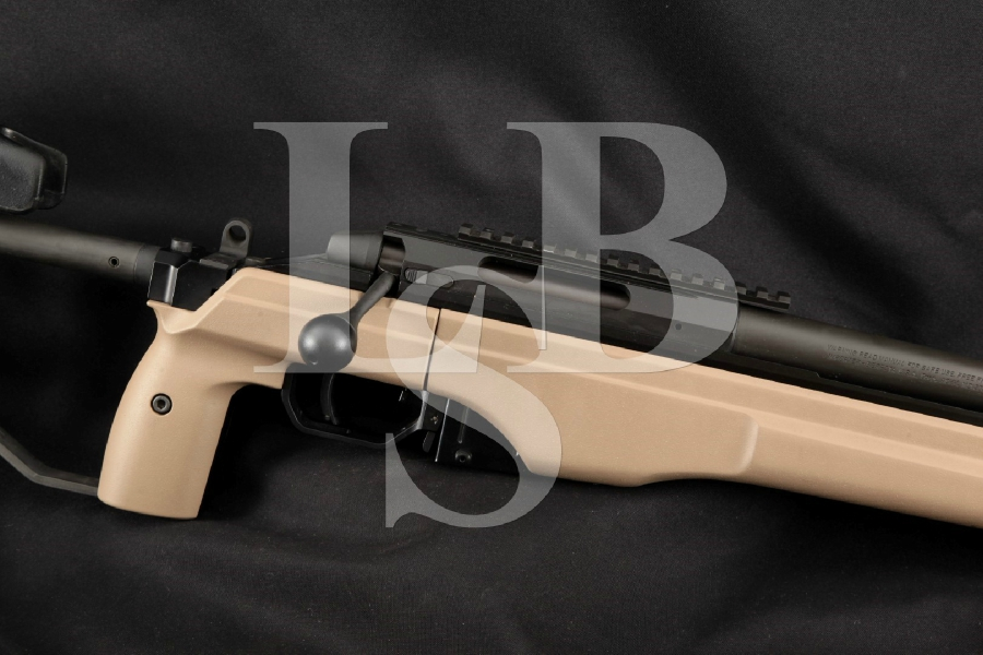 "Sako TRG 22 (TRG-22) TRG22 Sniper, Adjustable KRG Folding Stock, Parkerized 20"" Bolt Action Heavy Target Barrel Tactical Rifle."