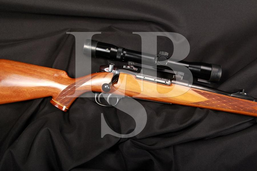 Sauer Weatherby Made in Germany Europa .300 Weatherby Magnum Bolt Action Rifle & Scope MFD 1966