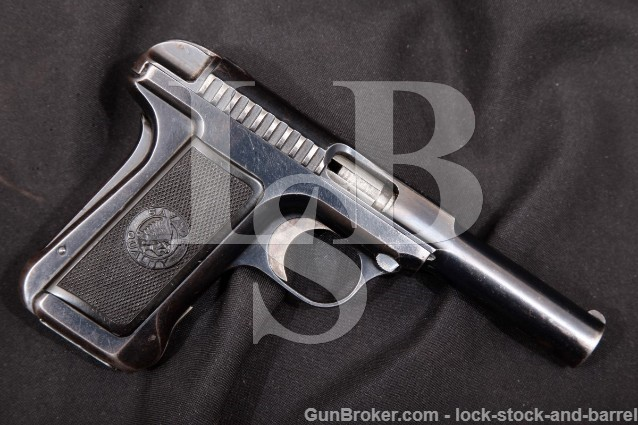 "Savage 1915 Hammerless Pocket Automatic 4"" 380 ACP 1 of 3900! SA Semi-Automatic Pistol, 1915 C&R RARE"