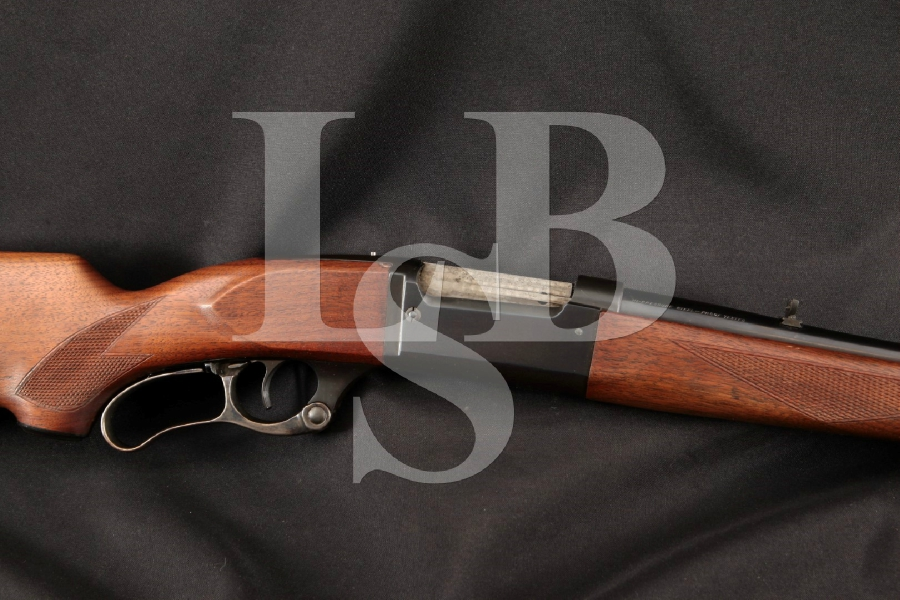 """Savage Model 99-R 99R 1899 Solid Frame, Blue & Case Colored 24"""" Lever Action, Rotary Mag Fed Rifle, MFD 1957 C&R"""