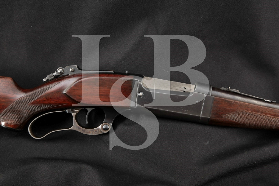 """Savage Model 99G Deluxe Takedown Lyman No. 1A Tang Sight, Blue 24"""" Lever Action Rifle, MFD 1925 C&R"""