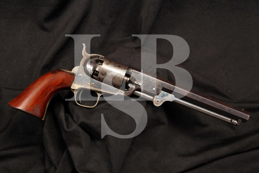 Sharp Colt Model 1851 Navy 4th Model .36 Cal. Percussion Revolver - MF'D 1862
