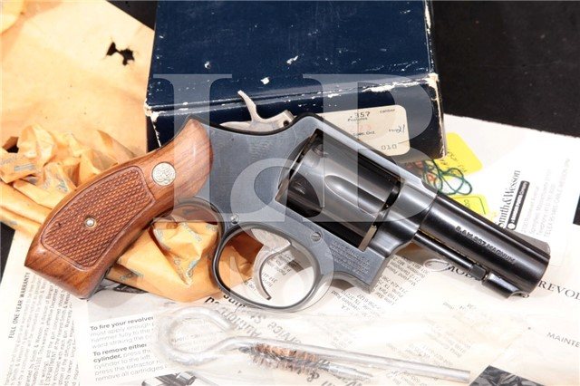 "Smith & Wesson S&W 13-3 .357 Magnum Blue 3"" Heavy Barrel SA/DA Double Action Revolver & Box"
