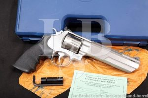 Smith & Wesson S&W 170081 Performance Center 625-6 Double Action Revolver & Box, MFD 1997 .45 Colt