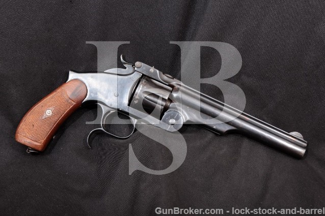 Smith & Wesson S&W 3rd New Model Russian Top Break .44 Russian SA Single Action Revolver, MFD 1874