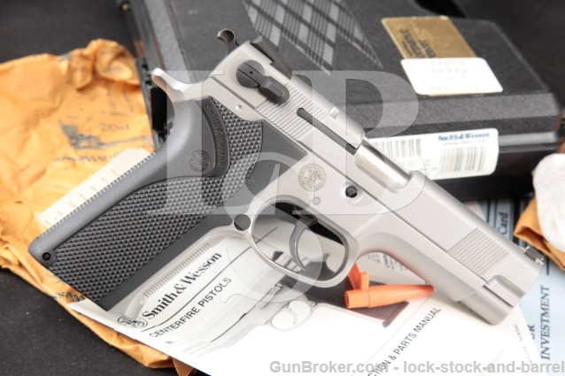 Smith & Wesson S&W 5906 IDPA Performance Center SKU170093 Stainless 4″ SA DA Semi Automatic Pistol