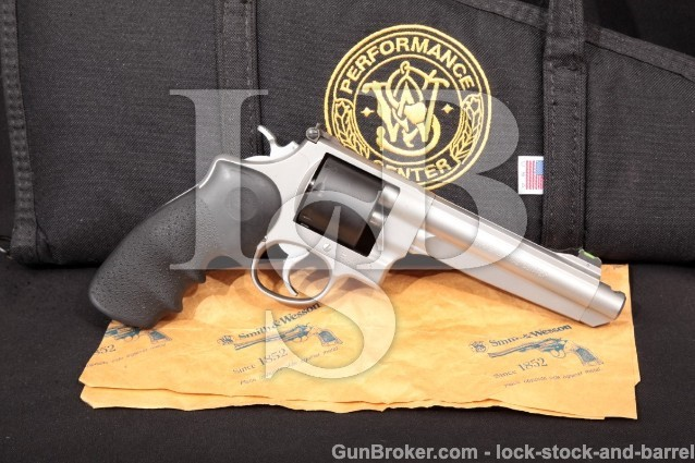 Smith & Wesson S&W 627-4 Performance Center PC 170205 Double Action Revolver & Case, .38 Super