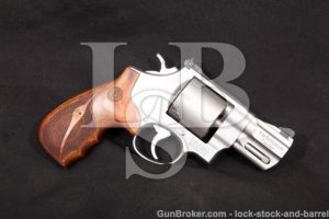 """Smith & Wesson S&W 627-5 Performance Center .357 Stainless 2 5/8"""" 8-Shot Double Action Revolver"""