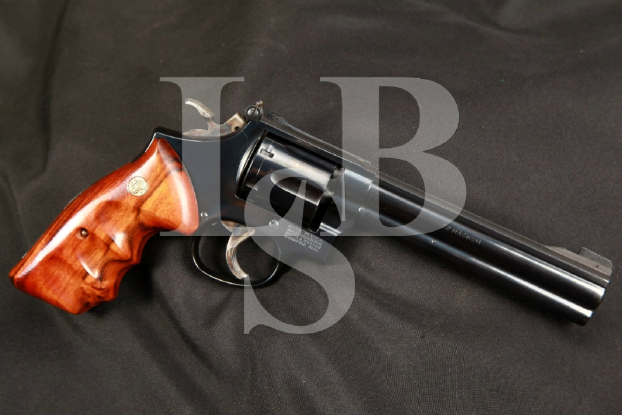 Smith & Wesson S&W Model 16-4, the K-32 Masterpiece 6 INCH Blue Double Action Revolver, MFD Ca. 1990