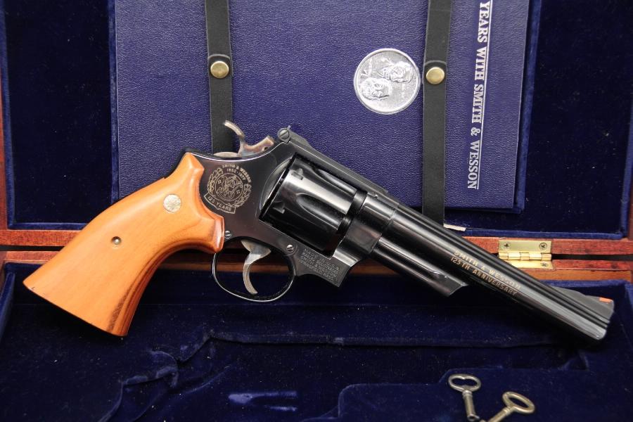 Smith & Wesson, S&W Model 25-3 — 125th Anniversary .45 Colt Revolver Cased – C&R OK