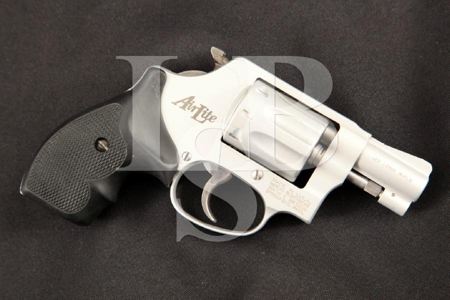 Smith & Wesson S&W Model 317 .22 AirLite J-Frame Snub Nose, Satin 2 ...