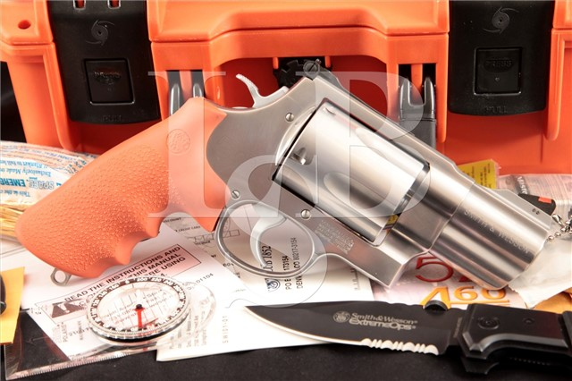 "Smith & Wesson S&W Model 500ES Bear Survival Kit 2 3/4"" 5-Shot DA/SA Double Action Revolver & More"
