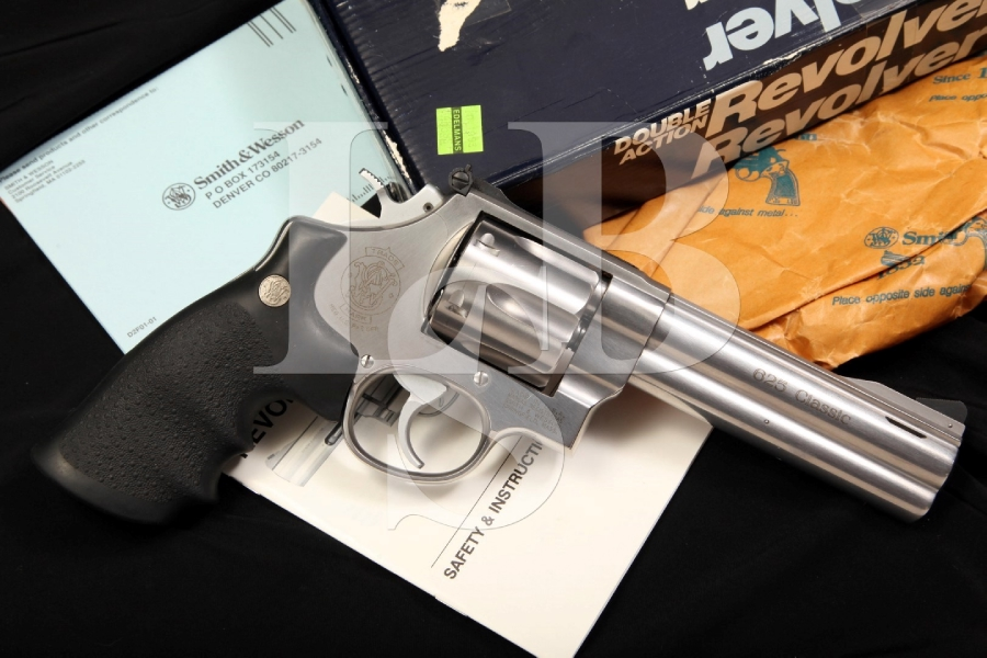 Smith & Wesson S&W Model 625-5 1989 Ported .45 Colt Double Action Revolver & Box