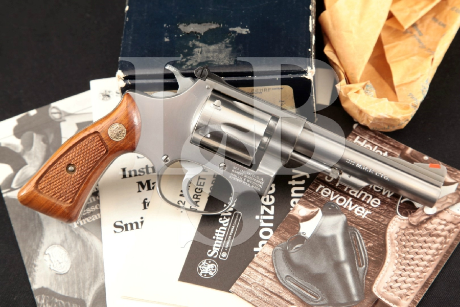 Smith & Wesson S&W Model 651, The  22 M R F  Target Kit Gun