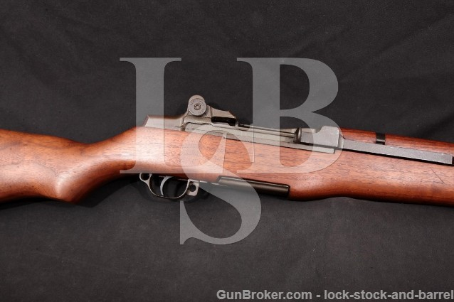 "Springfield Armory M1 Garand Parkerized 24"" .30-06 Military Semi Automatic Rifle, MFD 1944 C&R"