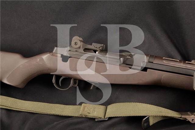 "Springfield Armory M1A & M2 Bipod 7.62mm NATO .308 22"" Parkerized Semi Automatic TRW Rifle MFD 1973"