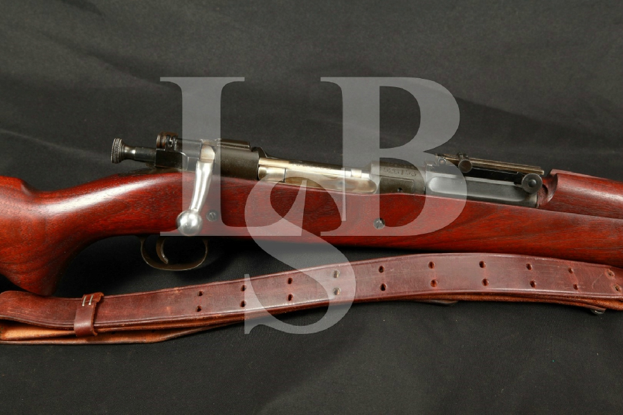 Springfield Armory Model 1903 NM National Match Bolt Action Rifle, 24″ Star Gauged Barrel 3-39, MFD 1938-1940 C&R