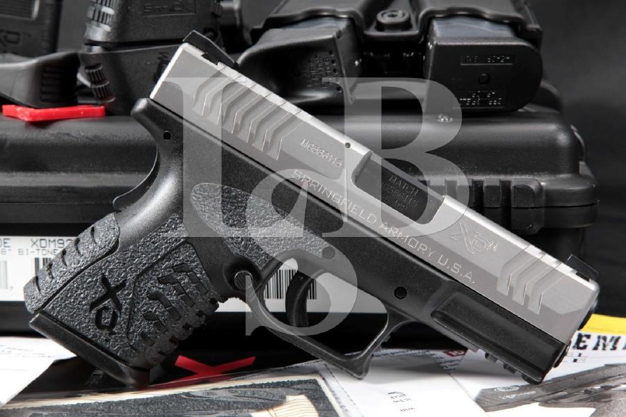 "Springfield Armory Model XD45 Compact XD-45, Bi-Tone 3.8"" SA Semi-Automatic Pistol"