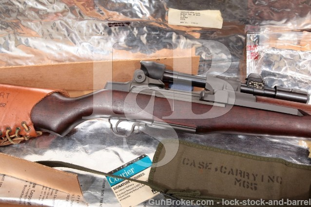 Springfield M1D Garand Sniper CMP M84 Scope .30-06 M65 Carrying Case M2 Flash Hider MFD 1941 C&R
