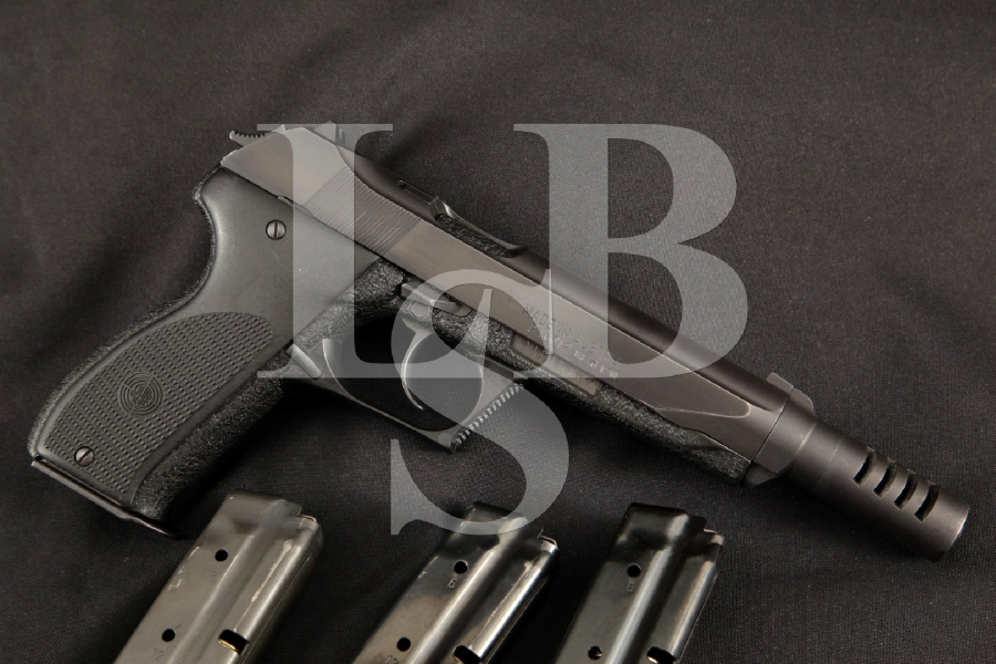 Steyr GB, Gas-Delayed Blowback Model, Rare Compensated Blue