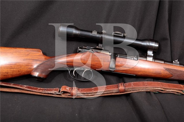 Steyr Mannlicher Schoenauer Model 1950 .30-06 Sprg Set Trigger Bolt Action Rifle & Kahles Scope, 1951