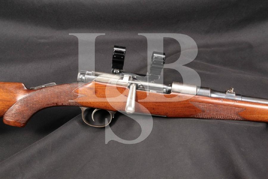 "Steyr Mannlicher Schoenauer Model M1903 Blue 17 ¾"" Bolt Action Repeating Carbine, MFD 1903-1925 C&R"