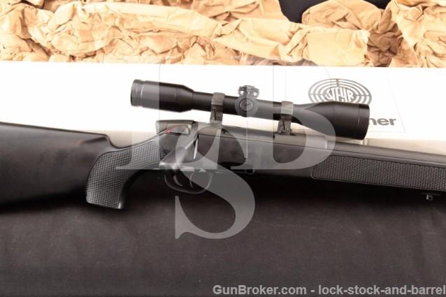 Steyr SSG-PII 69 .308 Win 26″ Heavy Barrel Set Trigger Bolt Action Sniper Rifle, Scope & Box
