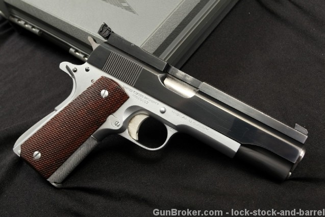 Armand A.D. Swenson Full Custom Colt Model 1911-A1