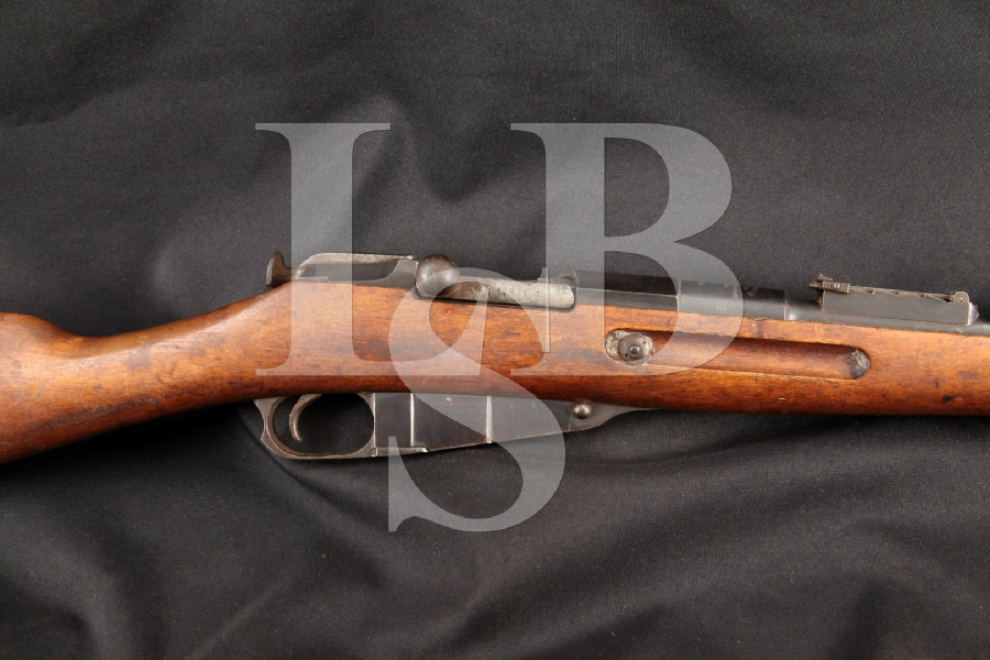 """Tula Arsenal Model 1891 Mosin Nagant, Matching Imperial Russian, Non-Import, Blue 31 ½"""" Military Bolt Action Rifle, MFD 1908 C&R"""