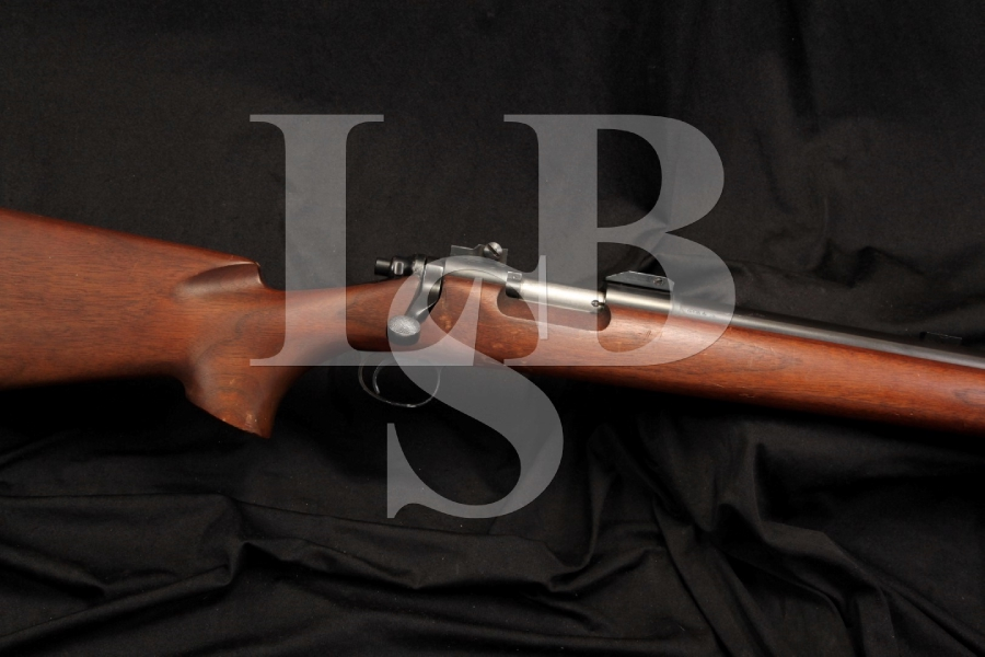 U.S. Marked Remington 40X 40 X — .22 LR Single Shot Bolt Action Training Rifle