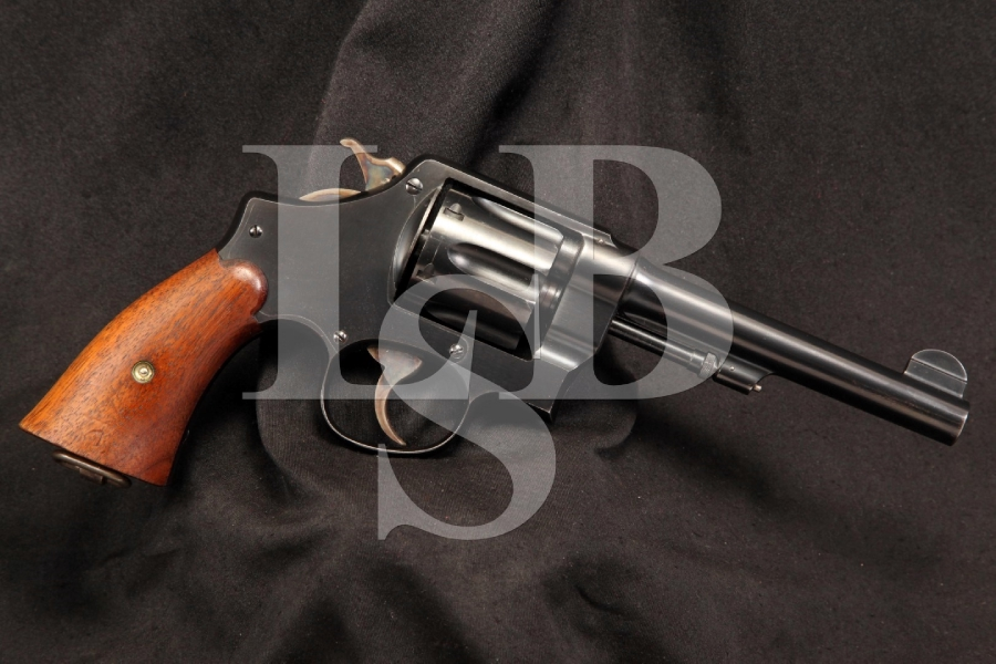 U.S. Marked Smith & Wesson S&W Model 1917 .45 ACP Hand Ejector Double Action Revolver, C&R