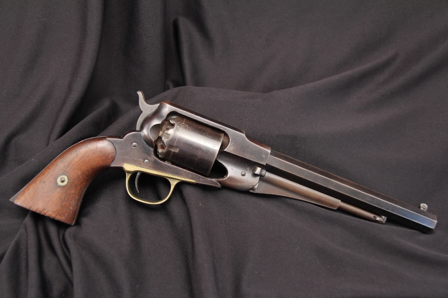 U.S. New Jersey Remington — Model 1858 Model Army .44 Percussion Revolver