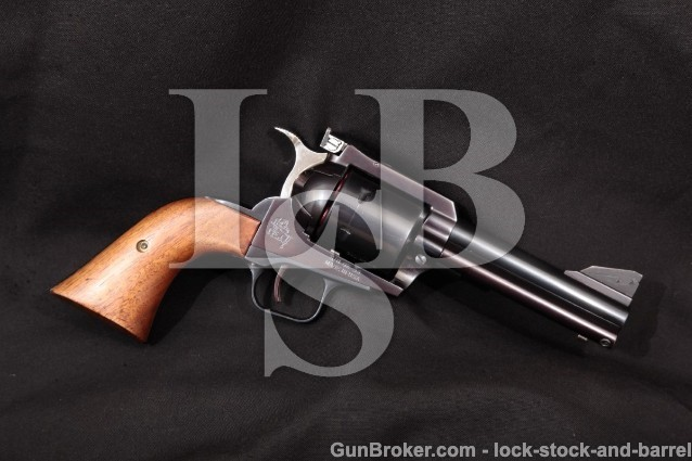 United Sporting Arms USA Qwik-Set Seville .45 Colt Blue 4 1/2″ Single Action Revolver, MFD 1983-1986