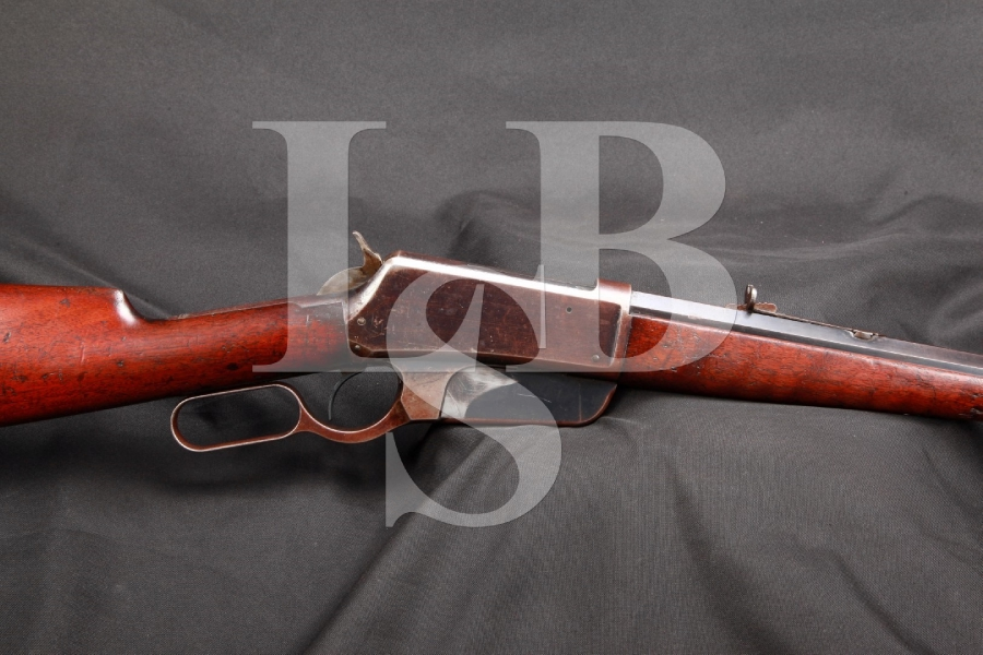 Very Sharp 2nd Year Flat Side Winchester Model 1895 95 .40-72 WCF Lever Action Rifle MFD 1896, Antique