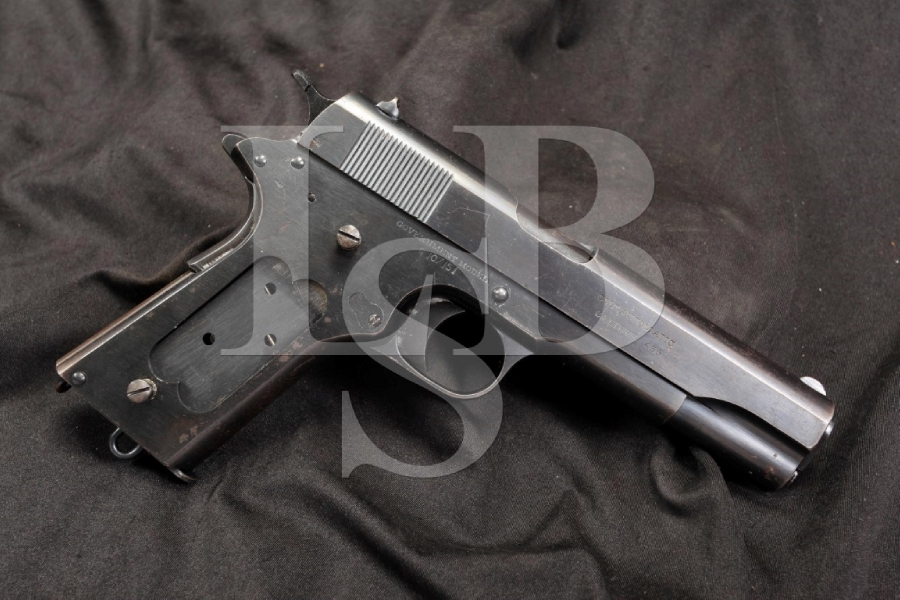 WWI Colt Government Model 1911 — .455 Webley R.A.F. Royal Air Force Marked – C&R OK