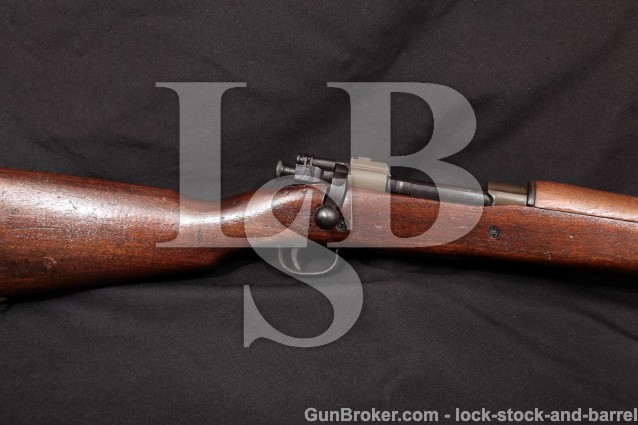 """WWII Remington 1903A4 03-A4 Sniper MFD 1943 Parkerized 24"""" Bolt Action Rifle, .30-06 SPRG, C&R"""