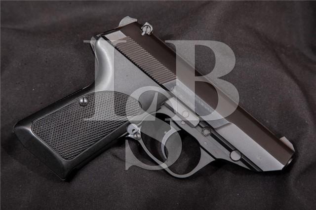 """Walther Interarms P5 Compact, Blue & Black 3"""" 9mm RARE German DA/SA Semi-Automatic Pistol, MFD 1989"""