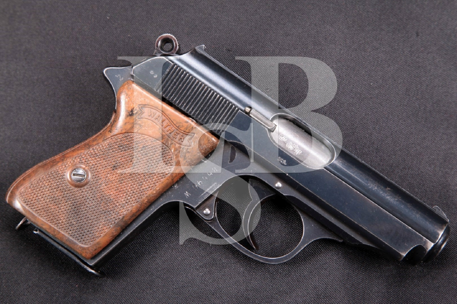 Walther PPK, RARE English Proofed Pre-War W Suffix Model