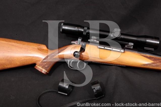 "Weatherby West German Sauer Europa 24"" Set-Trigger Bolt Action Rifle & Nickel Supra, 1966 C&R 300 WBY"