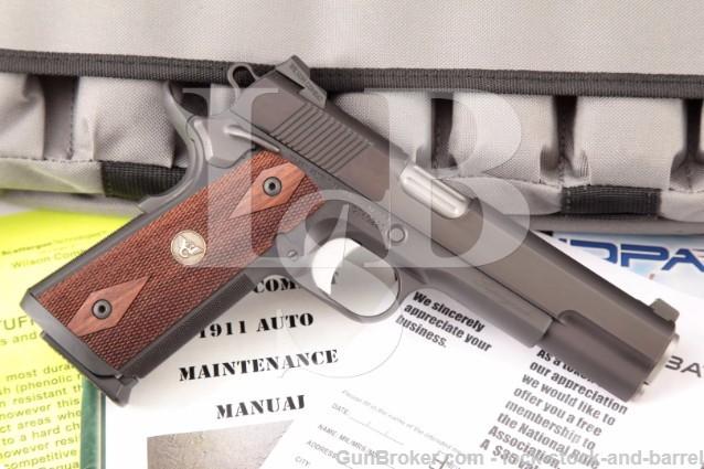 Wilson Combat Tactical SG Supergrade 1911 5″ Semi Automatic Pistol, 6 Mags, Dog Tag & Soft Case