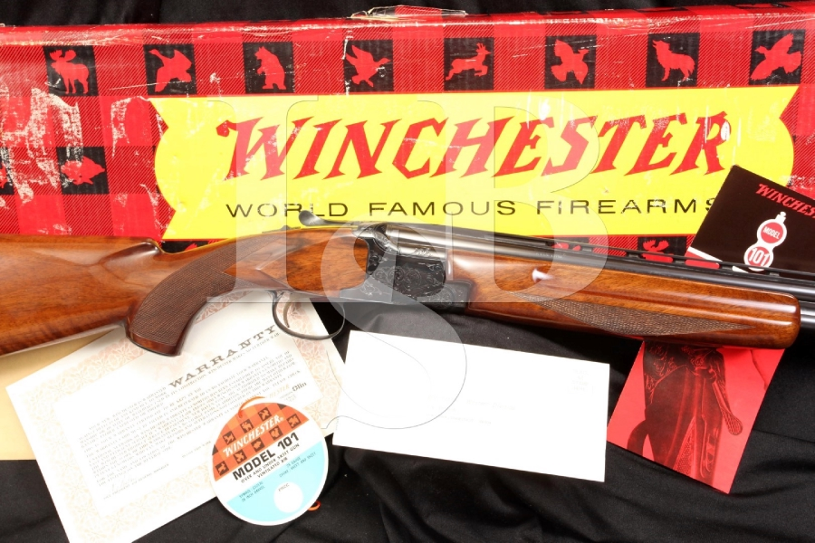 Winchester 101 28 Ga. Gauge O/U Over Under Skeet Shotgun – In The Box