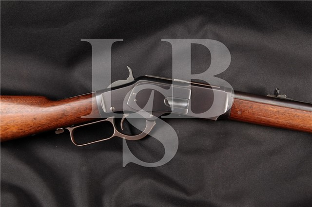 "Winchester 1873 3rd Model Blue Round Barrel 24 ¼"" .32 WCF 32-20 Lever Action Rifle MFD 1888 Antique"