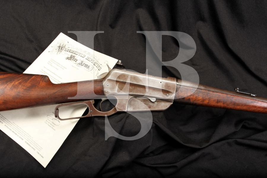 Winchester Deluxe Model 1895 .30-40 Krag Lever Action Rifle Letter 1900 C&R